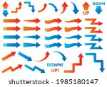 set of simple arrow icons | Shutterstock .eps vector #1985180147