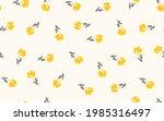 seamless floral pattern based...   Shutterstock .eps vector #1985316497