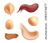 set of realistic cosmetic cream ... | Shutterstock .eps vector #1985374877