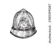 the custodian helmet  british...   Shutterstock .eps vector #1985399087