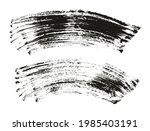 flat fan brush thick curved...   Shutterstock .eps vector #1985403191