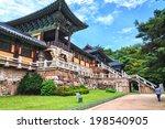 bulguksa temple is one of the... | Shutterstock . vector #198540905