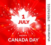july 1  canada day. great...   Shutterstock .eps vector #1985456531