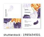 minimalistic invitation cards....   Shutterstock .eps vector #1985654501