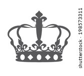 crown icons | Shutterstock .eps vector #198573311