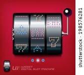 slot machine illustration  sign ...