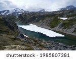 Famous Chilkoot Trail  Glacier...