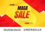 mega sale background with... | Shutterstock .eps vector #1985960114