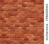 3d Rendering Of A Brick Wall...