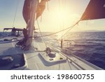sailing boat | Shutterstock . vector #198600755