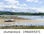 Red Wharf Bay  Anglesey  Wales. ...
