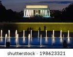 Lincoln Memorial With World Wa...