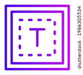 textbox gradient icon for...