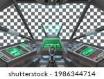 a spaceship or air plane craft...   Shutterstock .eps vector #1986344714
