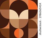 geometry minimalistic wall art... | Shutterstock .eps vector #1986365414