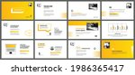 presentation and slide layout... | Shutterstock .eps vector #1986365417