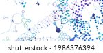 medical technology banners.... | Shutterstock .eps vector #1986376394