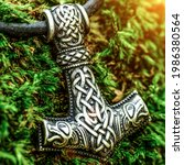 Scandinavian Amulet In The Form ...