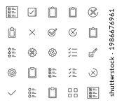 simple set of validation icons...