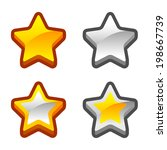 set of star icons for your game.