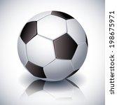 vector illustration   soccer... | Shutterstock .eps vector #198675971