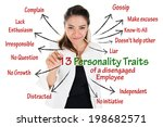13 personality traits of...   Shutterstock . vector #198682571