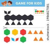 education logic game for...   Shutterstock .eps vector #1986827081