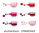 collection of various nail... | Shutterstock . vector #198683465