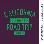 california oceanside road trip... | Shutterstock .eps vector #1986838151