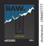 raw denim  modern and stylish... | Shutterstock .eps vector #1986857777