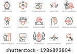 vector set of linear icons...   Shutterstock .eps vector #1986893804