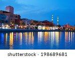 hurghada marina at night in...   Shutterstock . vector #198689681