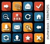 web icons mobile applications...
