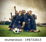 win for the team | Shutterstock . vector #198732815