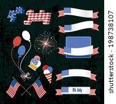 independence day vector design... | Shutterstock .eps vector #198738107