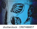 distress grunge vector texture...   Shutterstock .eps vector #1987488857