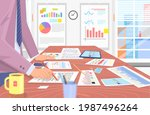 visualize with business... | Shutterstock .eps vector #1987496264