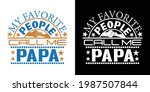 my favorite people call me papa ... | Shutterstock .eps vector #1987507844