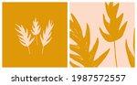 hand drawn botanical...   Shutterstock .eps vector #1987572557