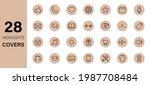 instagram highlights line icon... | Shutterstock .eps vector #1987708484