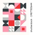 colorful geometric pattern in... | Shutterstock .eps vector #1987785644