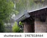 Heavy Rain Falling On The Roof...