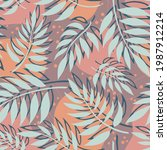 seamless vector background with ... | Shutterstock .eps vector #1987912214