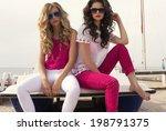 Fashion Photo Of Two Sexy...