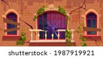ivy on antique abandoned...   Shutterstock .eps vector #1987919921