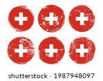 the flag of switzerland grunge... | Shutterstock .eps vector #1987948097