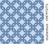 japanese overlap square ribbon...   Shutterstock .eps vector #1987973771