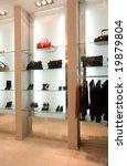 boutique interior | Shutterstock . vector #19879804