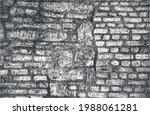 distressed overlay texture of...   Shutterstock .eps vector #1988061281