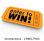 enter to win words orange... | Shutterstock . vector #198817964